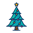 celebrate, christmas, decorate, decoration, tree icon