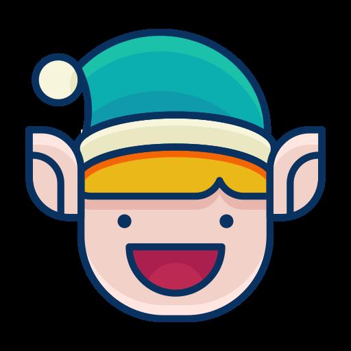 elf, emoji, emoticon, happy, smile, smiley icon