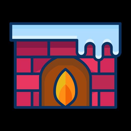fireplace, furnishing, furniture, livingroom, winter icon