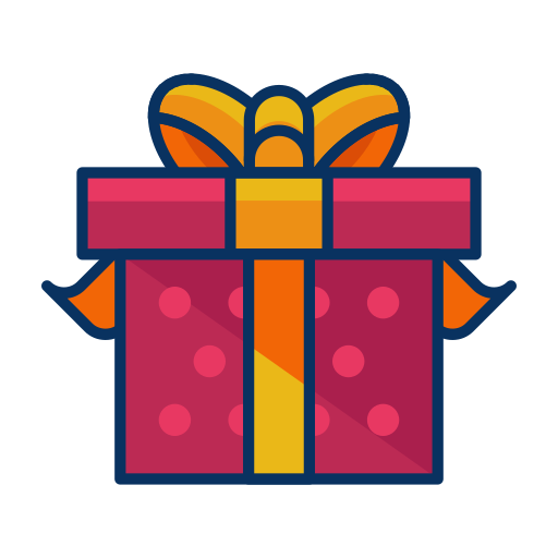 box, christmas, gift, present, ribbon icon