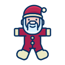 child, claus, game, santa, smile, toy icon