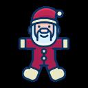 toy, claus, game, santa, child, smile icon