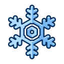 christmas, cold, ice, snow, snowflake, winter icon