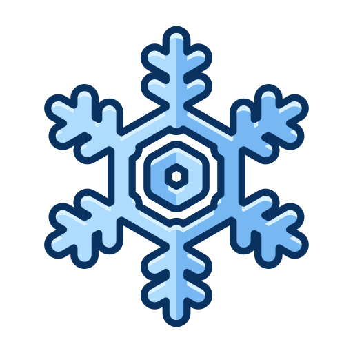 christmas, cold, ice, snow, snowflake, winter icon