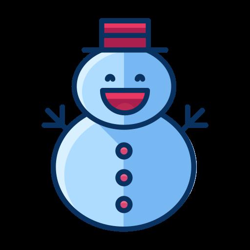 christmas, man, snow, snowman, winter icon