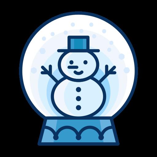 decorate, decoration, man, snow, snowglobe, snowman icon