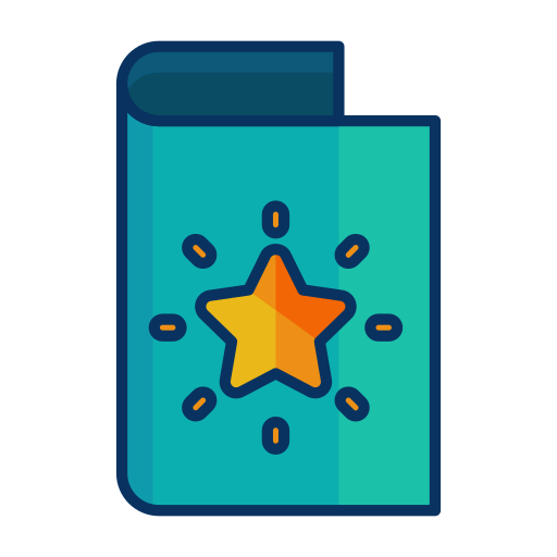 card, christmas, decorate, greeting, star icon