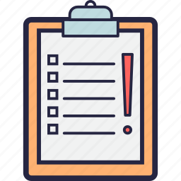activity, advantages, assumptions, audit, claims icon