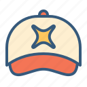 accessory, cap, clothing, fashion, hat icon