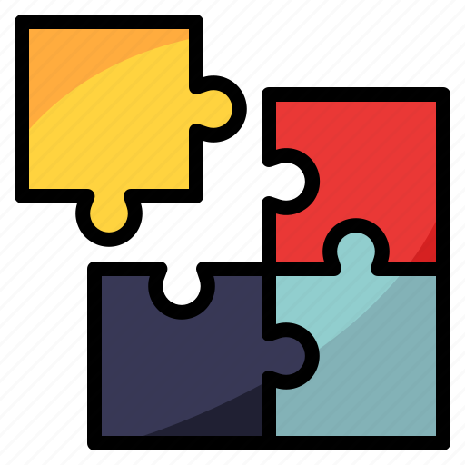 game, hobby, jigsaw, kids, puzzle icon