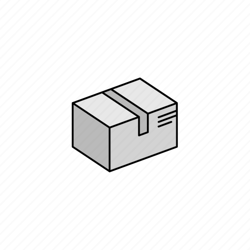 box, delivery, shipping, storage, transportation icon