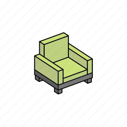 chair, furniture, home, hut, interior icon