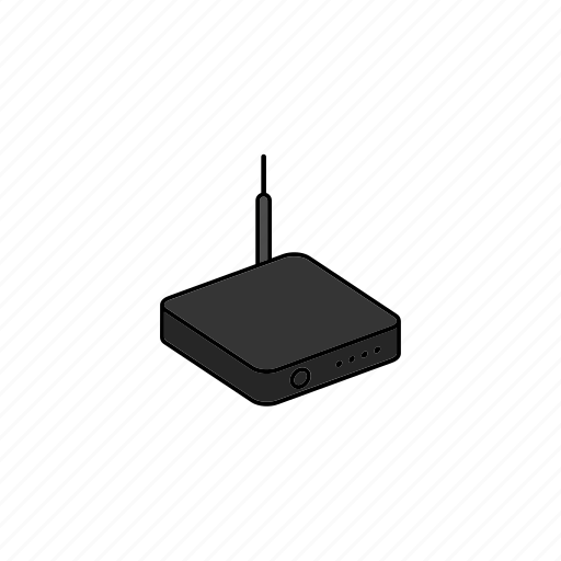 device, internet, network, router, wifi icon