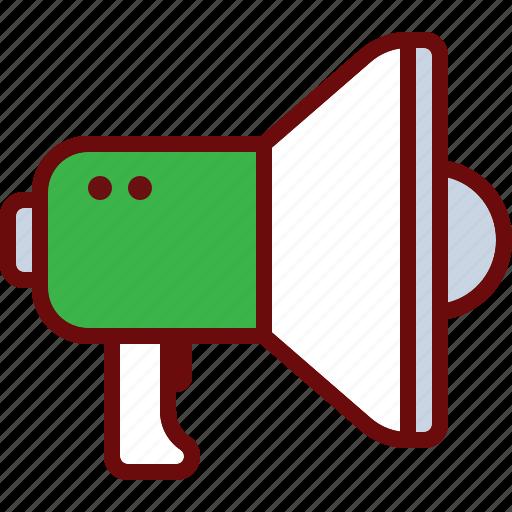 marketing, megaphone, promo, sound, voice icon