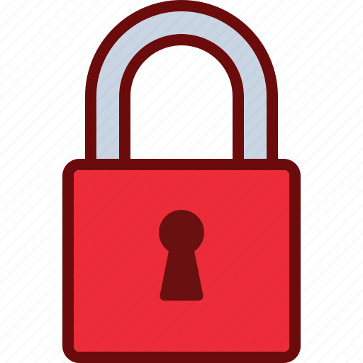 close, lock, safety, security icon