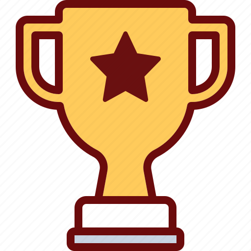 cup, prize, star, trophy icon