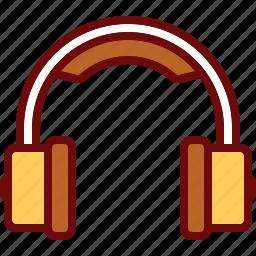 audio, headphone, listen, music icon