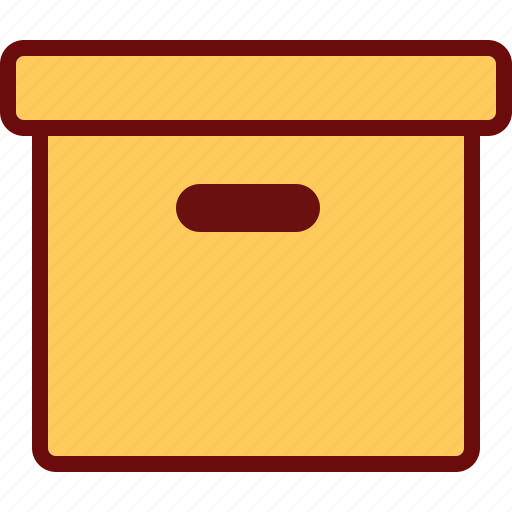 box, pack, storage, warehouse icon