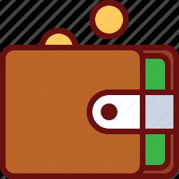 coin, dollar, finance, money, wallet icon