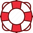 circle, lifebuoy, safety, support icon