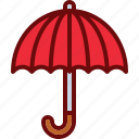 protection, rain, safety, umbrella icon