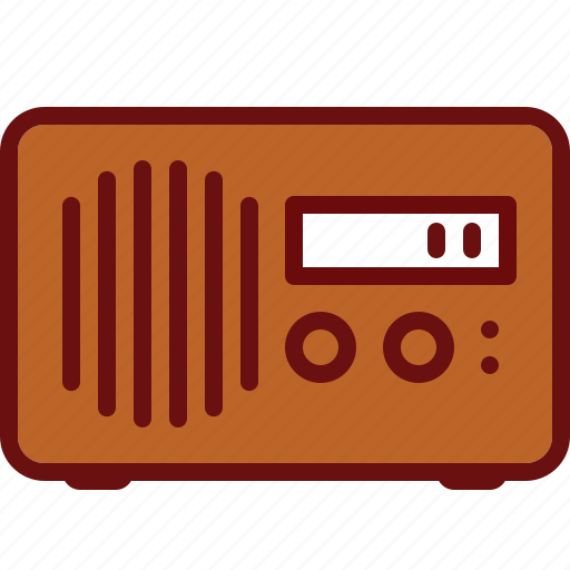device, music, radio, sound, wave icon