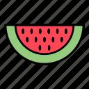fruit, juice, watermelone icon