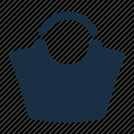 bag, bucket, fashion, female, woman icon