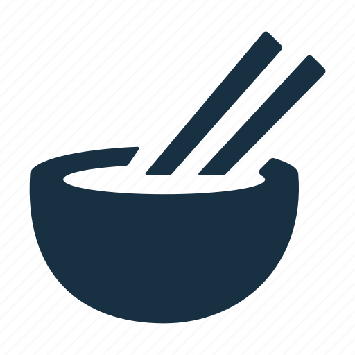 Bowl, chinese, dish, eat, food, noodle, restaurant icon - Download on Iconfinder