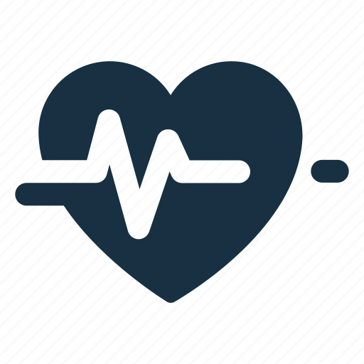 Beat, health, healthcare, heart, heartbeat, pulsation, pulse icon - Download on Iconfinder