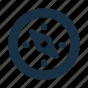 arrow, compass, direction, location, navigation, outdoor