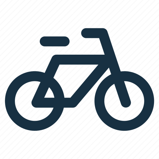 bicycle, bike, cycle, cycling, transport, transportation icon