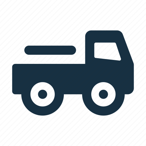 delivery, logistic, pickup, shipping, transport, transportation, truck icon