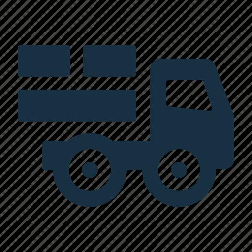 logistics, pickup, shipping, transport, transportation, truck, vehicle icon