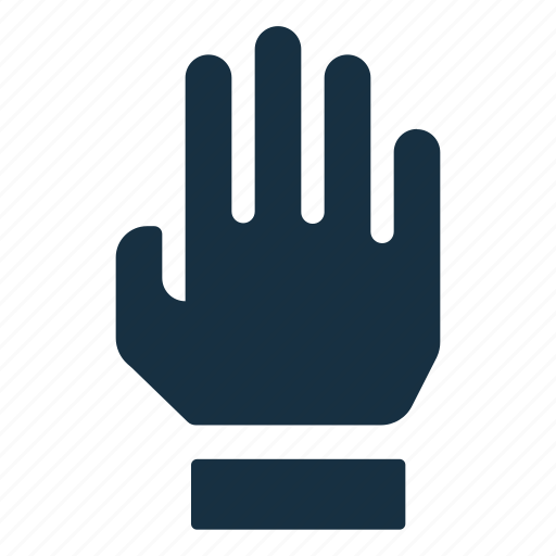 communication, four, gesture, hand, interaction icon