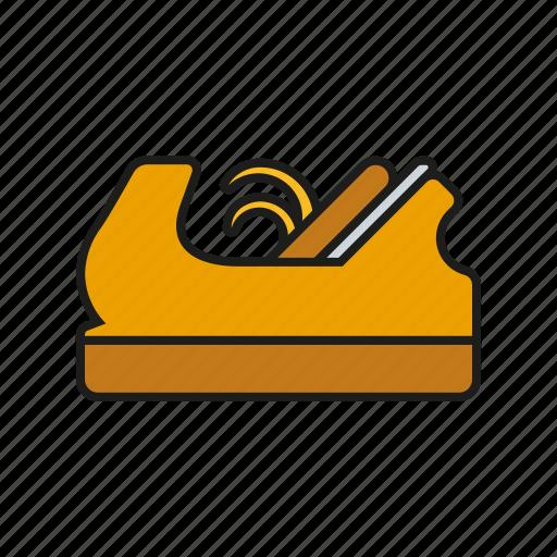 carpentry, diy, equipment, plane, slicer, tool icon