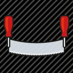 carpentry, diy, equipment, saw, seesaw, tool icon