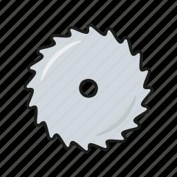 blade, carpentry, circular, diy, equipment, saw, tool icon