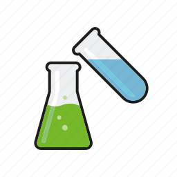 equipment, flask, healthcare, hospital, laboratory, medical, test tube icon