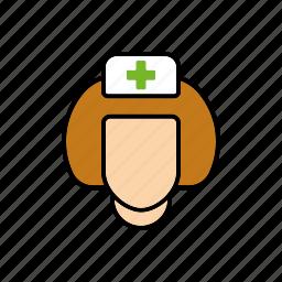 doctor, healthcare, hospital, medical, nurse, woman icon
