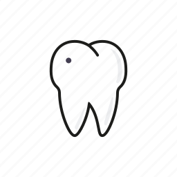caries, dental, dentist, healthcare, hospital, medical, tooth icon