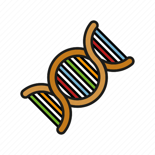 dna, healthcare, hospital, medical, microbiology, strain icon
