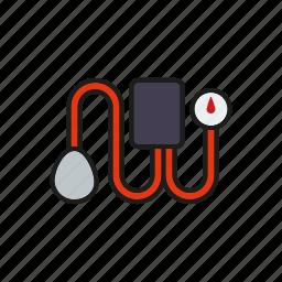 blood pressure, gauge, healthcare, hospital, medical, meter, monitor icon