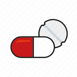 capsule, healthcare, hospital, medical, medicine, pill icon