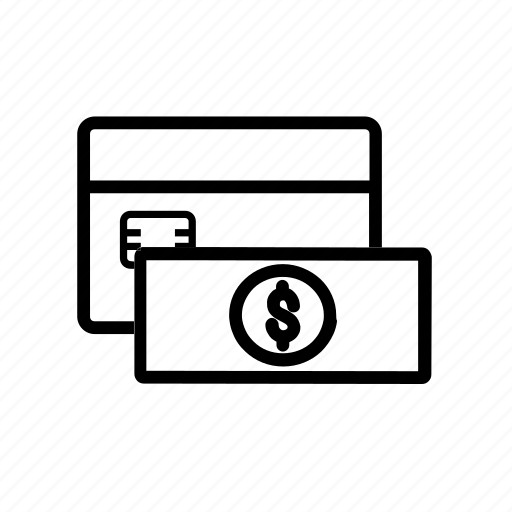 card, cash, finance, money, payment icon