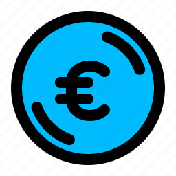 coin, euro, money icon
