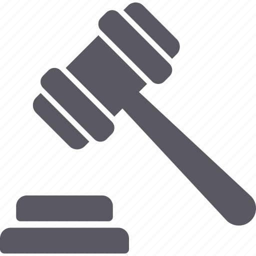auction, balance, finance, hammer, insurance, justice, law icon