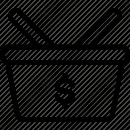 ecommerce, finance, shopping, shopping bag icon