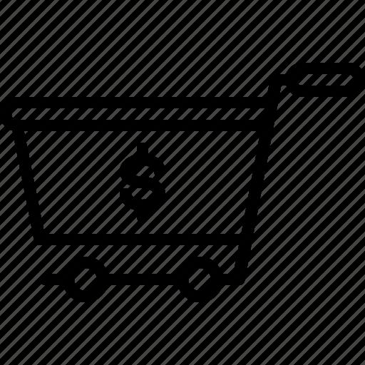 ecommerce, finance, shopping, shopping cart icon