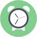 alarm clock, clock, timepiece, timer, watch icon